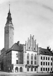 /Głubczycki ratusz po przebudowie, r. 1936/